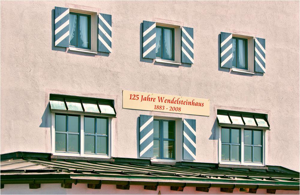 Wendelsteinhaus