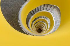 Wendeltreppe - gelb