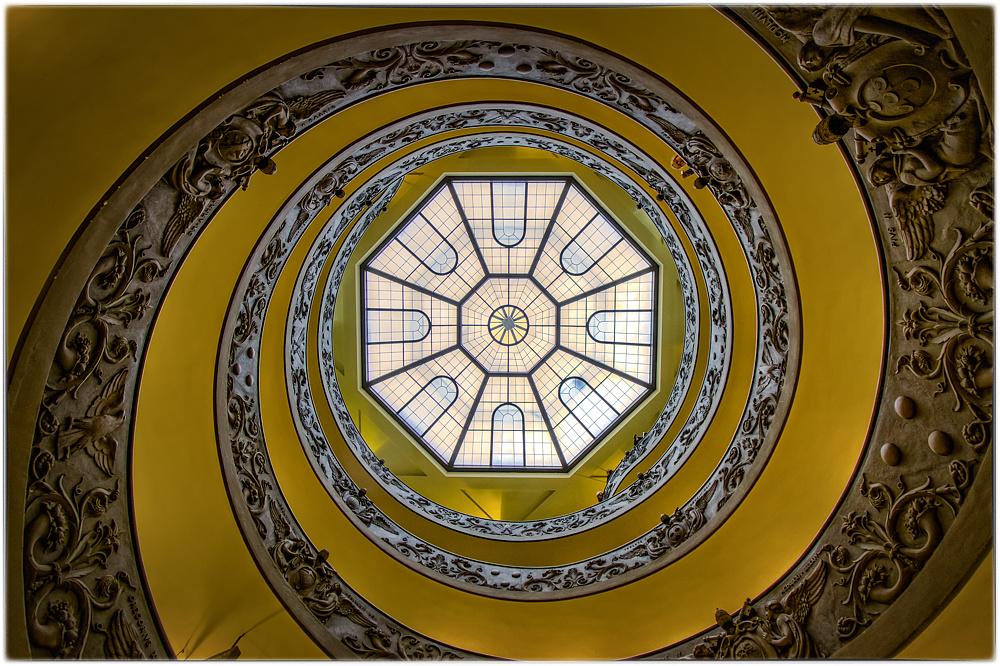 Wendeltreppe Vatikanische Museen