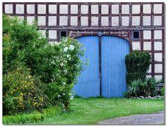 Wendland - blaues Tor
