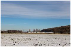 Wenig Schnee im Grossen Moos