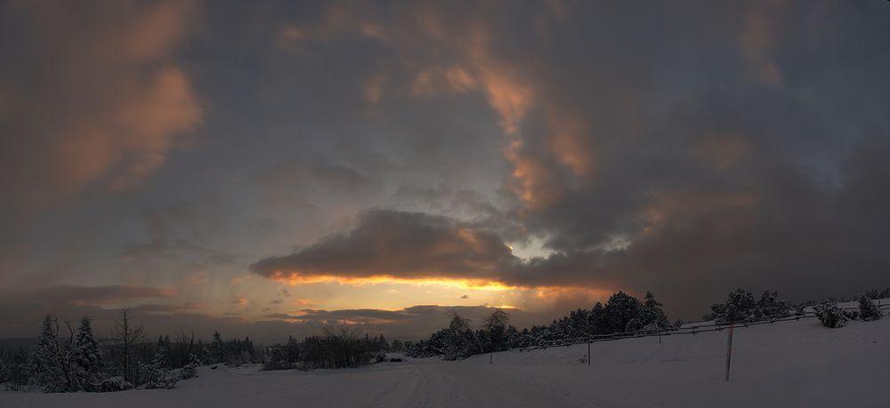 Wenig Schnee im Januar...