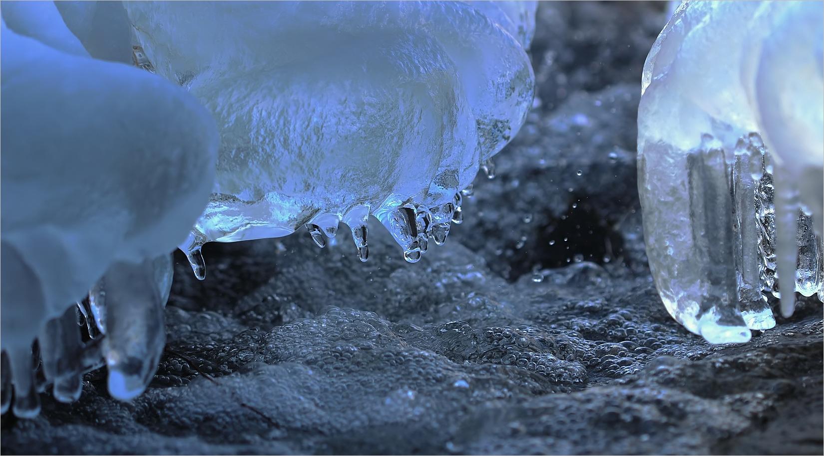Wenn aus Wasser Eis wird