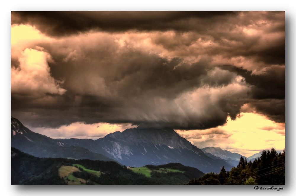 Wenn Berge die Wolken tragen