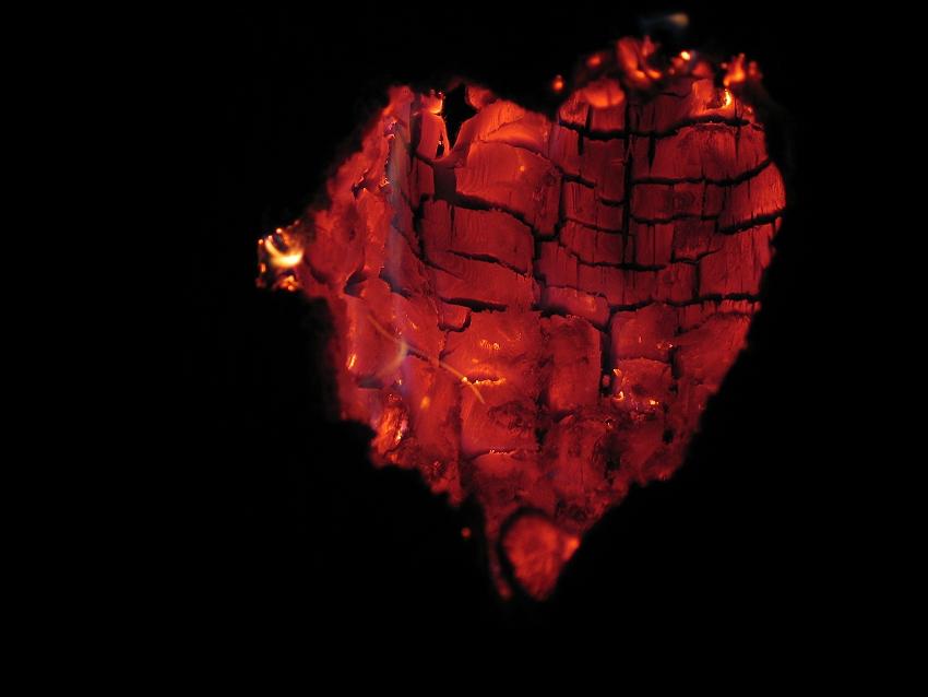 Wenn das Herz brennt...