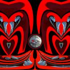 Wenn das Herz für eine Rote Corvett C1 schlägt ...