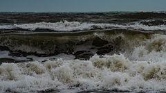 Wenn das Meer das Maul aufreißt - dann ist Sturm