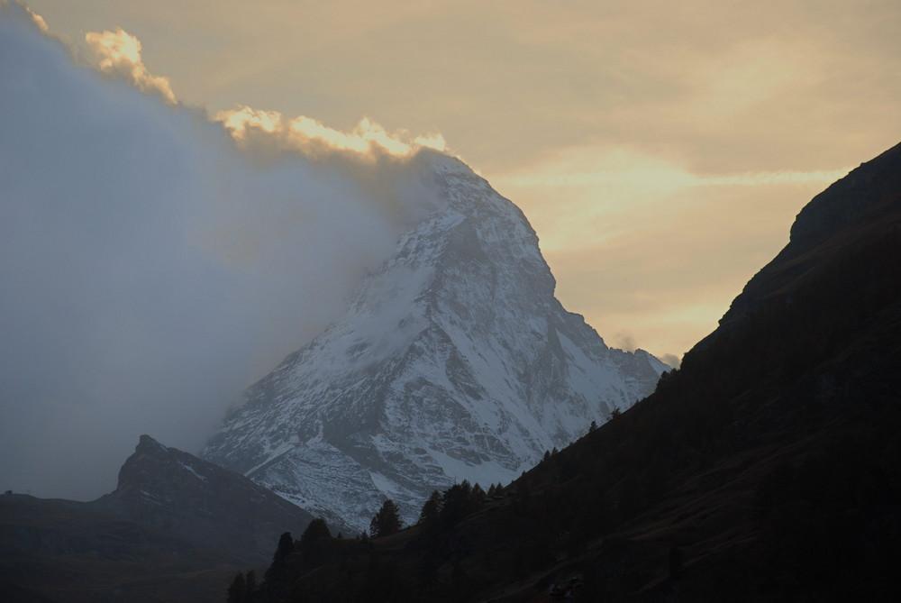 Wenn der Alpenfirn sich rötet...