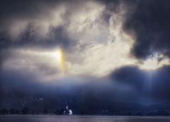...wenn der Himmel daran erinnert, den Glauben nicht zu verlieren...