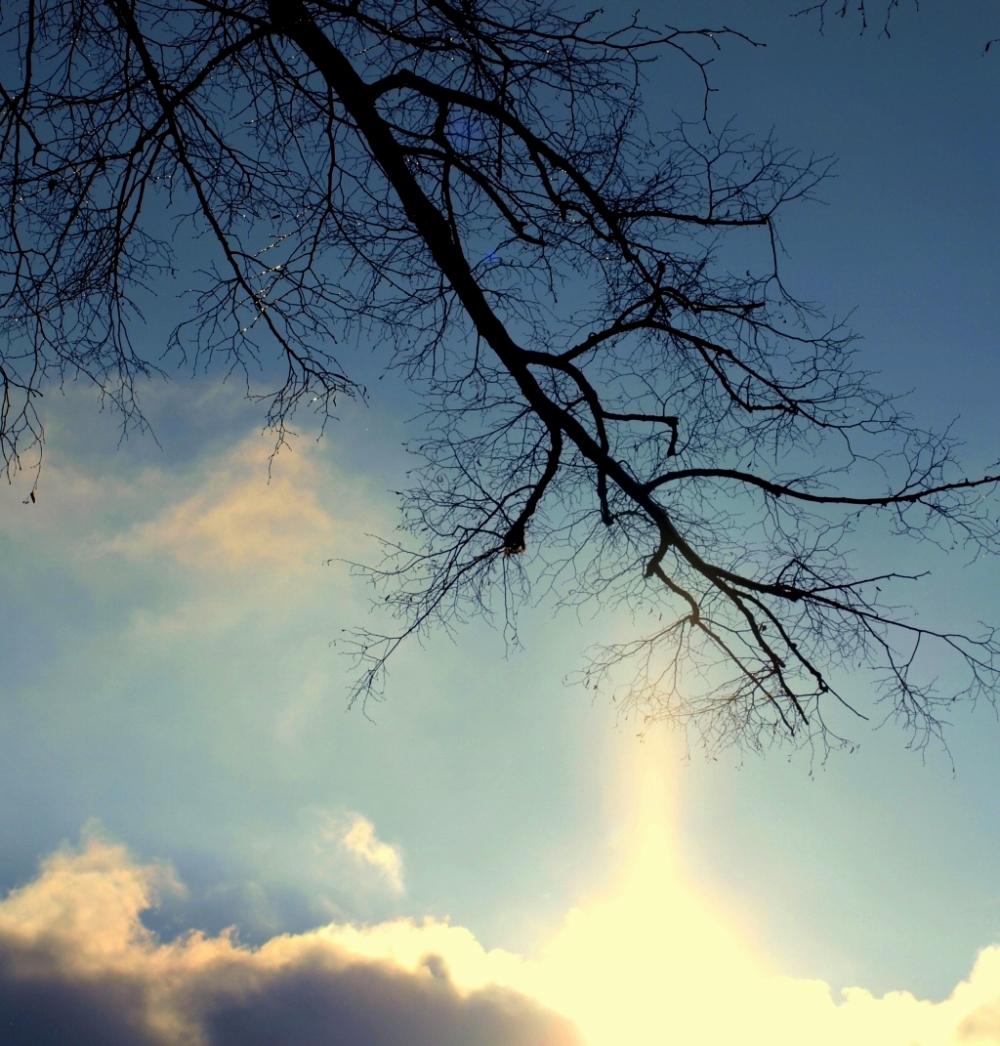 wenn der Himmel die Erde berührt