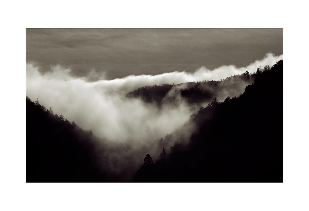 Wenn der Nebel kommt ...