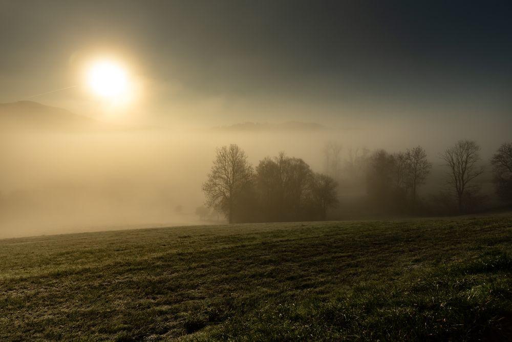 wenn der Nebel sich lichtet ...