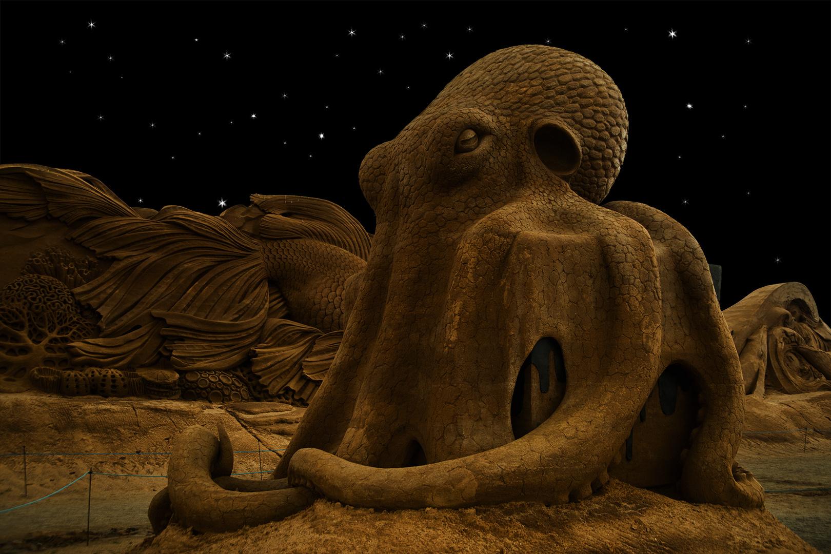 Wenn der Octopus zur Ruhe geht