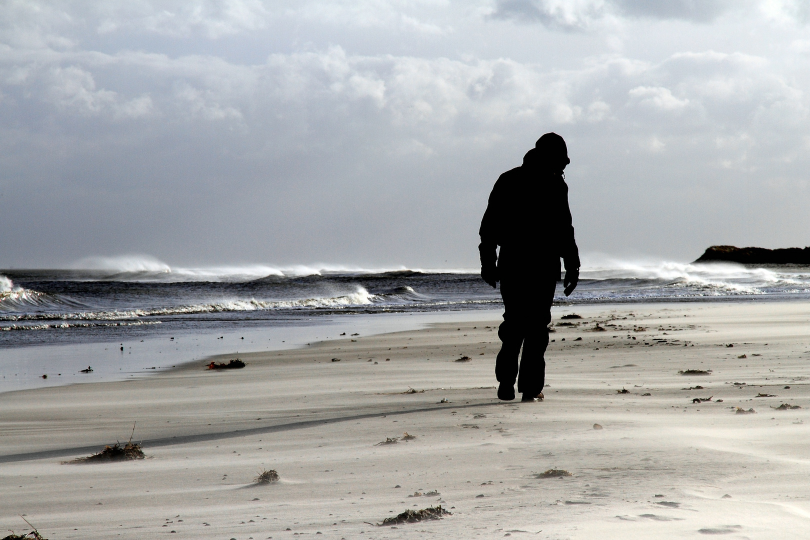 Wenn der Sturm dem Meer das Fliegen lehrt
