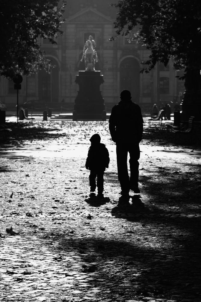 wenn der Vater mit dem Sohne