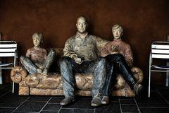 Wenn der Vater mit den Söhnen....