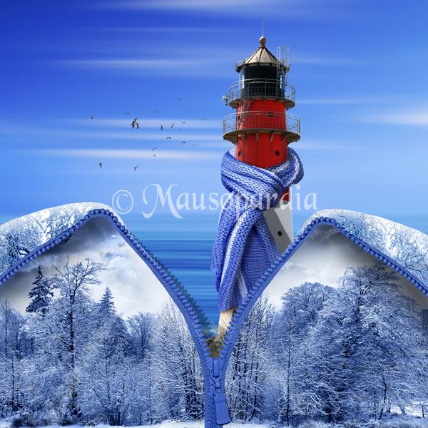 wenn der Winter an die Küste kommt :)