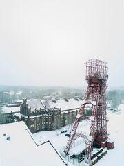 wenn der Winter das Ruhrgebiet berührt