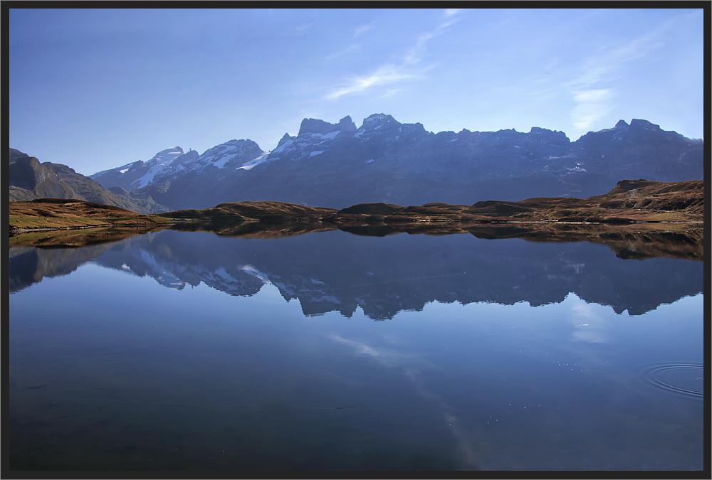 Wenn die Berge das Wasser berühren