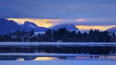 ...wenn die Berge Vulkane sein möchten...