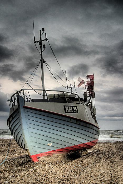Wenn die Boote schlafen, tanzen Himmel und Meer miteinander