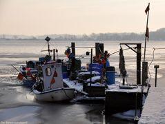 Wenn die Fischer auf Eis liegen ,