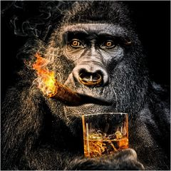 Wenn die Lunte brennt, helfen nur Eis, Alkohol und ein schneller Gang zum Arzt ;-)