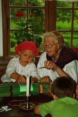 Wenn die Oma mit dem Kinde
