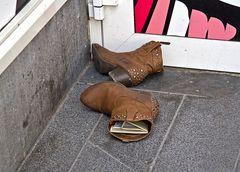 Wenn die Schuhe drücken...