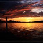 Wenn die Sonne geht... (jetzt mit Rahmen)