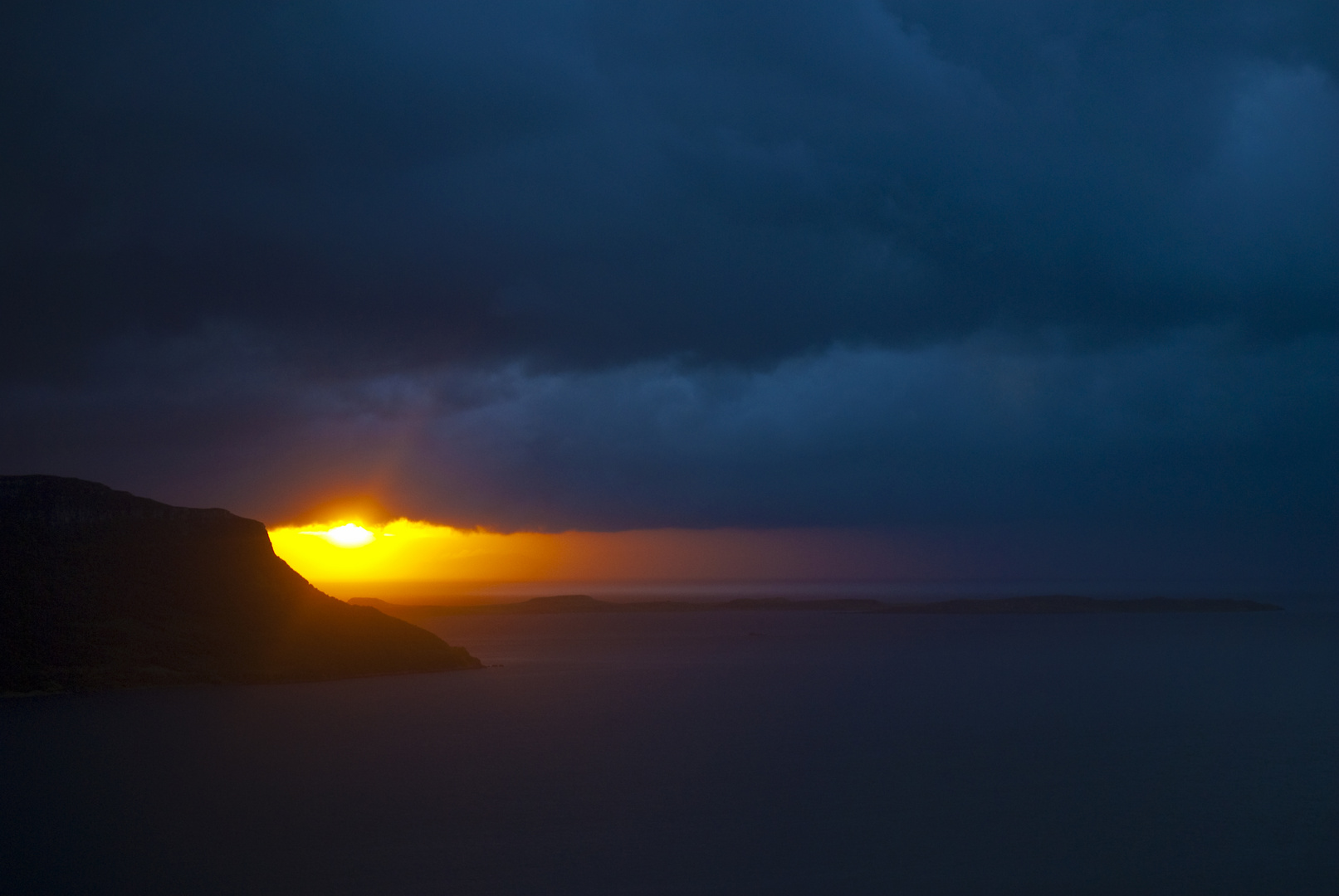Wenn die Sonne ihre letzten Grüsse sendet