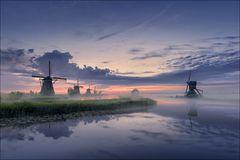 Wenn die Windmühlen stehen...