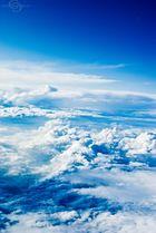 Wenn die Wolken zu Berge stehn