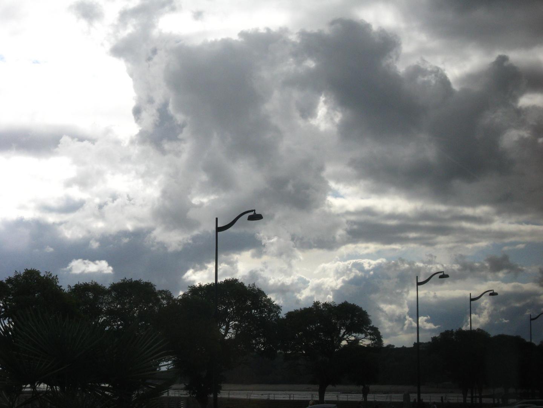 Wenn die Wolken zum Greifen nah sind.