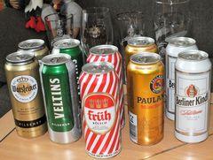 Wenn ein Discounter an den Tag des Bieres erinnert,...