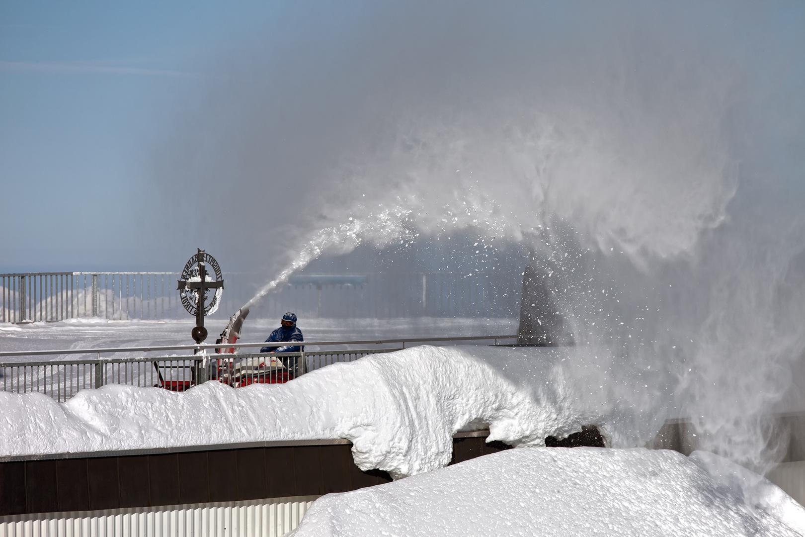 Wenn es in Garmisch schneit....