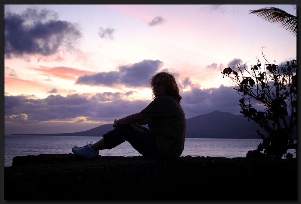 ...Wenn es Nacht wird auf Lanzarote...