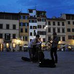 Wenn es Nacht wird in Firenze...