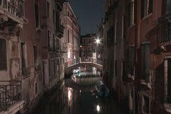 Wenn es Nacht wird über Venedig