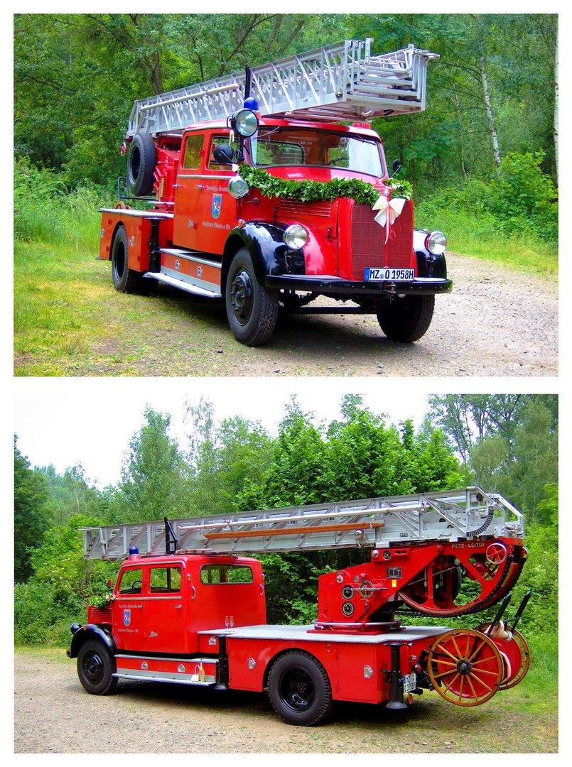...wenn Feuerwehrkameraden heiraten...