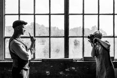 Wenn Fotografen, Fotografen beim Fotografieren ...