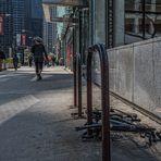 wenn in Chicago a Radl umfällt