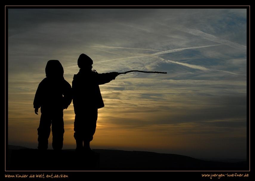 Wenn Kinder die Welt entdecken