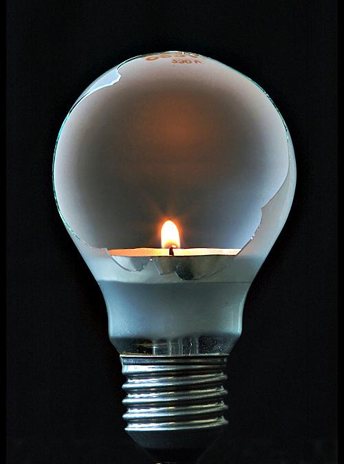 wenn mal das Licht ausgeht...