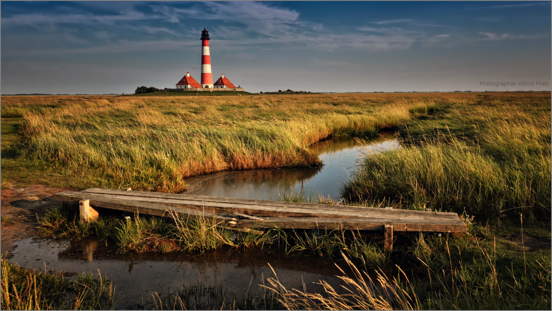 Wenn nachmittags das Licht an der Nordsee wärmer wird, ...
