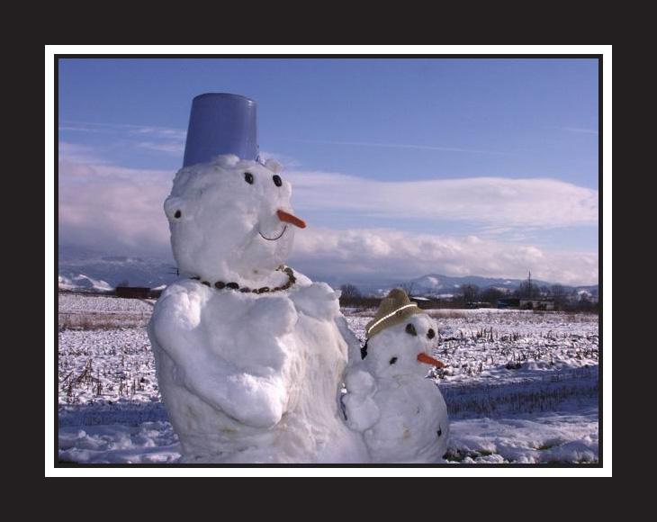 wenn Schneefrauen frieren....