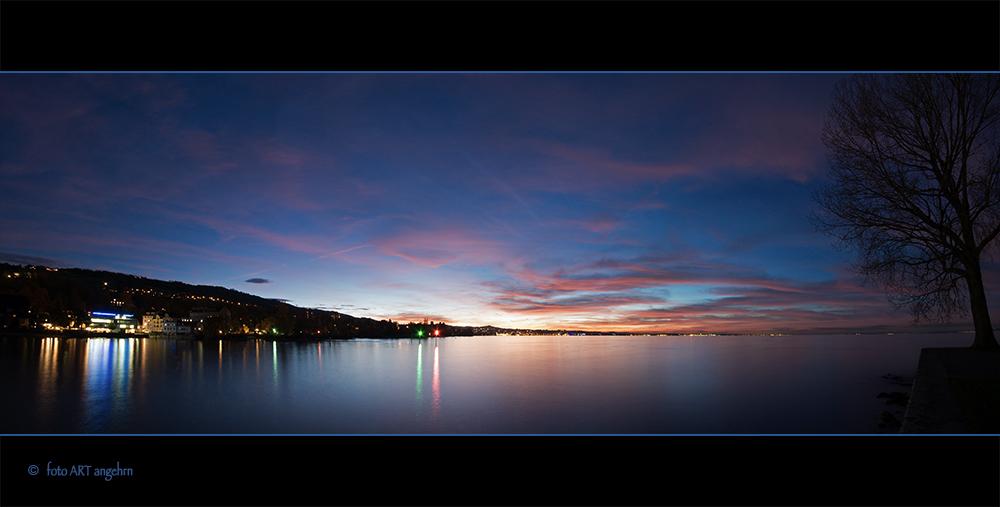 Wenn See und Himmel leuchten...