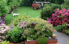 Wenn sich der Garten bunt zeigt ...