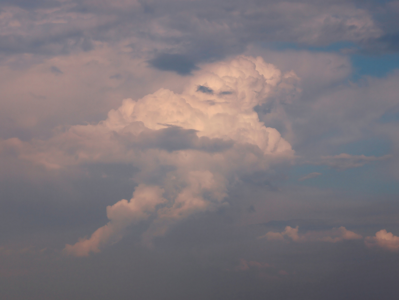 Wenn Wolken...