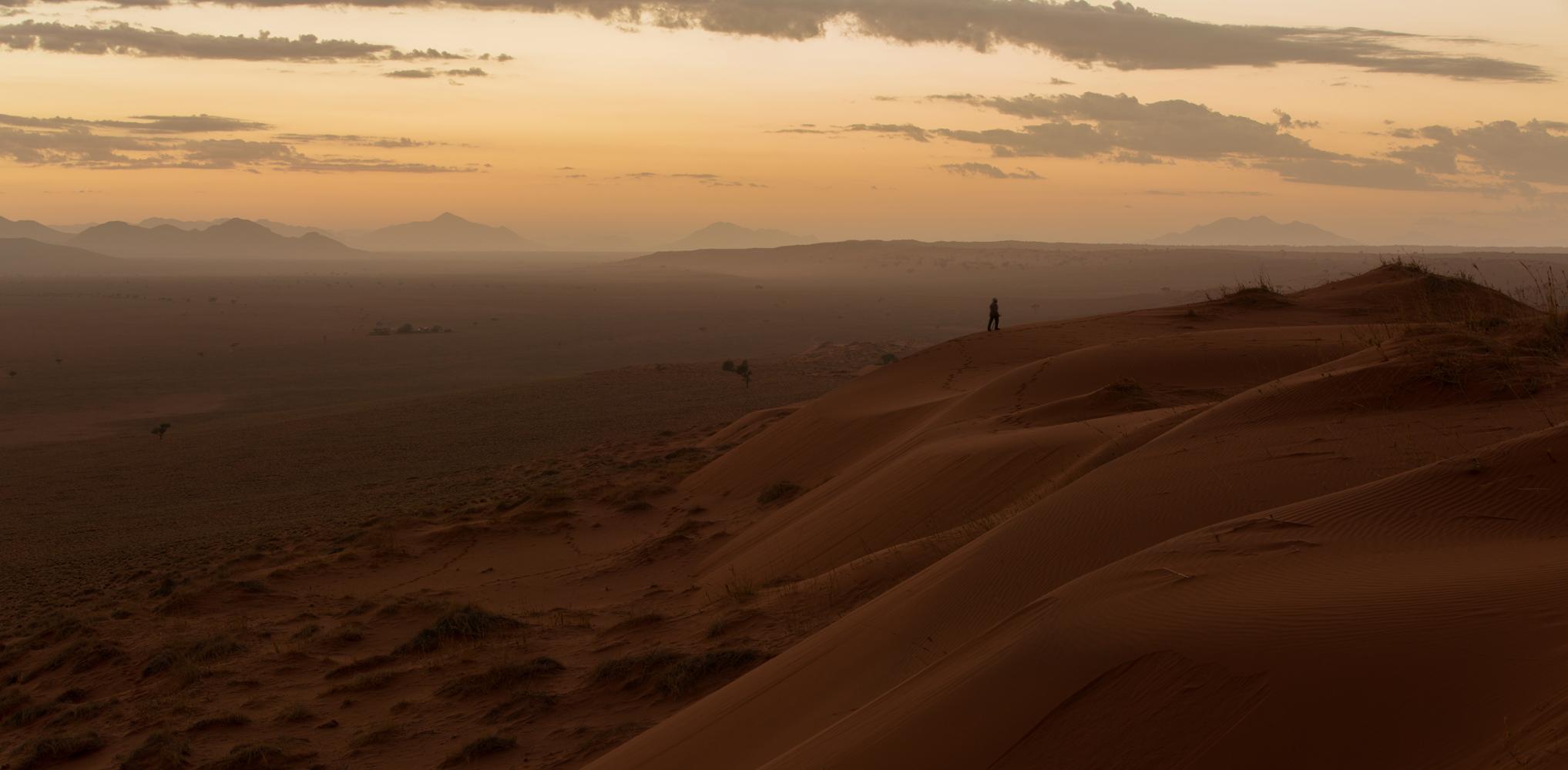 Wenn Zwei eine Reise .../0040 Namibia - Sunrise in der Wüste